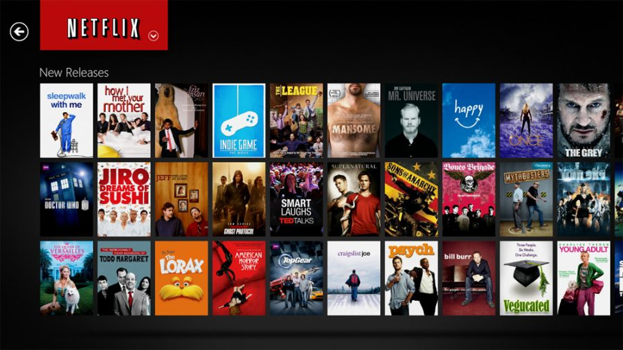 Netflix allows for easy online viewing of  movies and shows and is the most popular form of movie and show viewership at BCA.