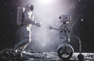 This may be the possible future of space travel if AI were effectively taught to be empathetic. Astronauts could receive mental health support on long missions if this were the case.