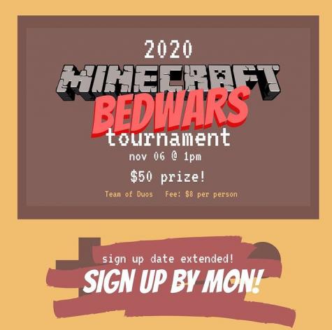 Minecraft BedWars Poster